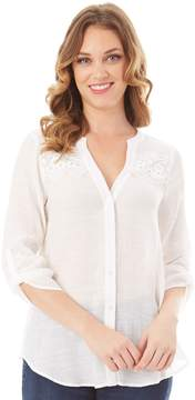 Apt. 9 Women's Embroidered Blouse