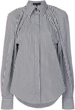 Barbara Bui striped long-sleeve shirt