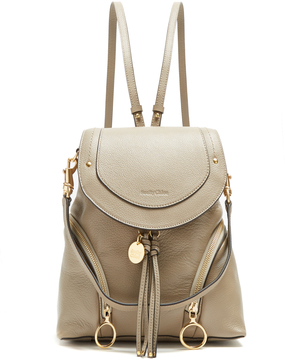 SEE BY CHLOÉ Olga medium grained-leather backpack