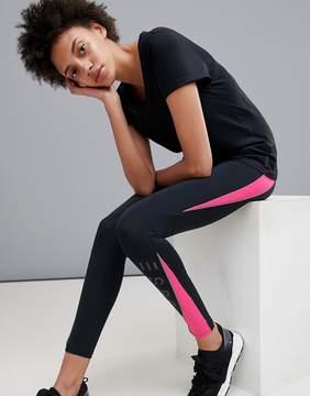 Esprit Gym Leggings With Pink Detail