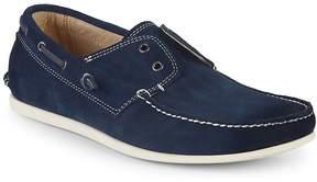 John Varvatos Men's Suede Boat Shoes