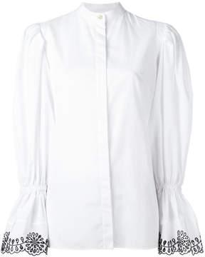Alexander McQueen peplum sleeve shirt