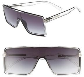 Marc Jacobs Women's 54Mm Shield Sunglasses - Crystal Black