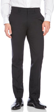 DKNY Solid Blended Wool Pants