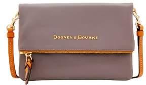 Dooney & Bourke City Foldover Zip Crossbody Shoulder Bag