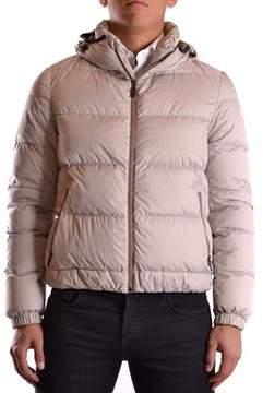 Geospirit Men's Beige Polyamide Down Jacket.