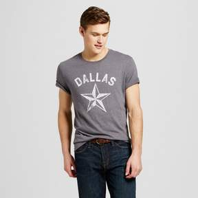 Awake Men's Texas Dallas Star T-Shirt - Charcoal Gray