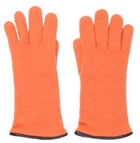 Barneys New York Barney's New York Cashmere Leather Gloves