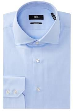 HUGO BOSS Gerald Solid Regular Fit Dress Shirt
