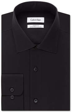 Calvin Klein Steel Men's Classic-Fit Non-Iron Performance Solid Dress Shirt