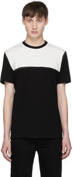 Maison Margiela Black and White Panelled T-Shirt