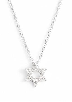 Bony Levy Women's Star Of David Diamond Pendant Necklace (Nordstrom Exclusive)