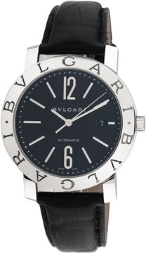 Bulgari Women's BB 42 SL Auto Stainless Steel Watch, 42mm