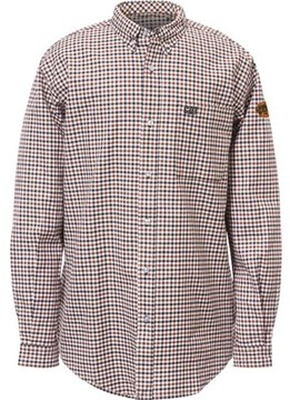 Caterpillar Flame Resistant Plaid Work Shirt (Men's)