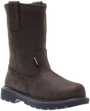 Wolverine Floorhand Wellington Mens Waterproof Slip Resistant Steel Toe Work Boots
