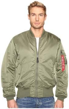 Alpha Industries MA-1 Blood Chit Flight Jacket Men's Coat