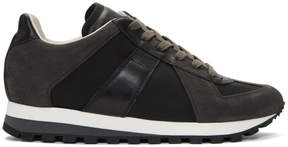 Maison Margiela Black Runners Sneakers