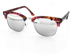 Cat Eye AQS Milo 49mm Clubmaster Sunglasses