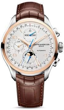 Baume & Mercier Clifton Automatic Complete Calendar Chronograph, 43mm