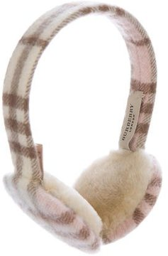 Burberry House Check Earmuffs