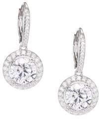 Adriana Orsini Pave Drop Earrings