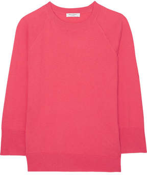 Equipment Desi Cotton And Cashmere-blend Sweater - Bubblegum