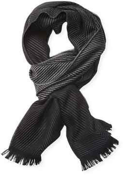 Versace Men's Sciarpa Wool Scarf