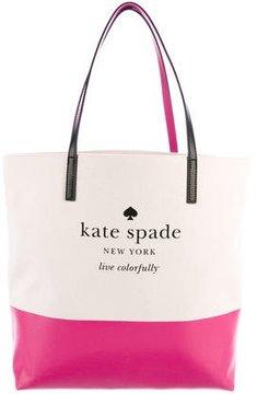Kate Spade Basin View Bon Shopper Tote w/ Tags - PINK - STYLE
