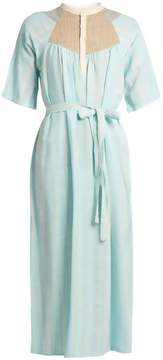 Ace&Jig Bronte woven-cotton midi dress