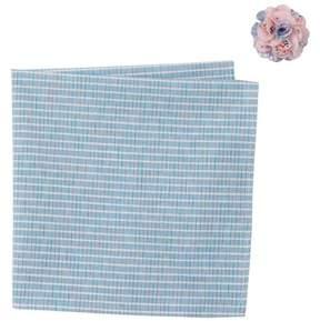 Original Penguin Morea Stripe Pocket Square & Lapel Pin Set