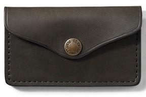 Filson Men's Snap Leather Wallet - Green