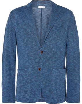 Boglioli Slim-Fit Knitted Linen Blazer