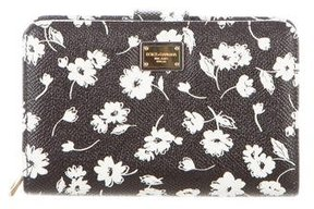 Dolce & Gabbana Dauphine Compact Wallet w/ Tags - BLACK - STYLE