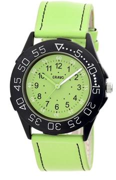 Crayo Fun Collection CRACR2506 Unisex Watch with Leather Strap