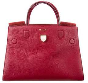 Christian Dior Grained Leather Diorever Bag
