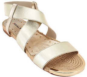 Rialto As Is Multi-strap Espadrille Sandals - Moriane
