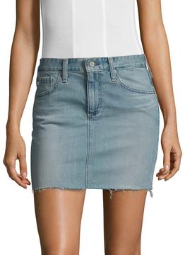 AG Adriano Goldschmied Women's Sandy Mini Denim Skirt