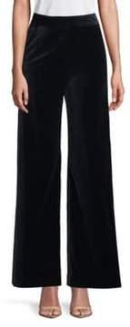 Dries Van Noten Velvet Wide-Leg Pants