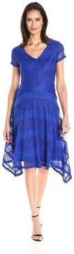 Sangria DXGUBEB Lace V-neck A-line Dress