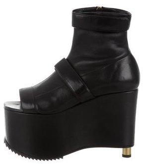 Vera Wang Wedge Ankle Boots w/ Tags