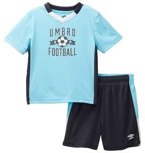 Umbro Short Sleeve Soccer Tee & Shorts Set (Toddler Boys)