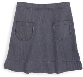 Tea Collection Monaka Engineer Stripe Skirt (Toddler Girls)