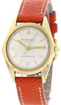 Girard Perregaux Gyromatic Black Starr & Gorham 14K Yellow Gold Men's Watch
