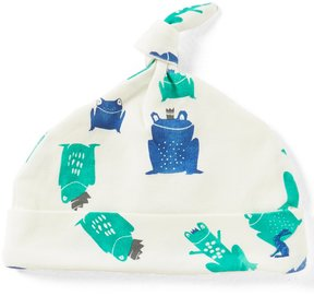 Joules Baby Boys Newborn-9 Months Frog-Print Knot Hat