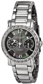 Akribos XXIV Diamond Ladies Watch