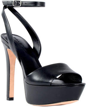 Halston Bobby Leather Sandal