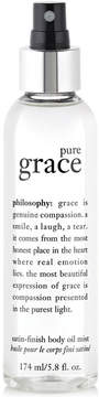Philosophy Pure Grace Satin-Finish Body Oil Mist, 5.8 Oz