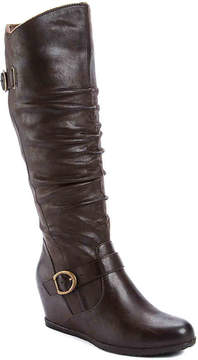 Bare Traps Women's Tender Wide Calf Wedge Boot
