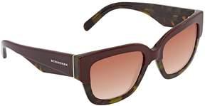 Burberry Brown Gradient Square Ladies Sunglasses