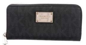 Michael Kors Monogram Continental Wallet